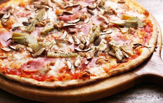 Pizza - Capriciosa - Wine House Restaurant