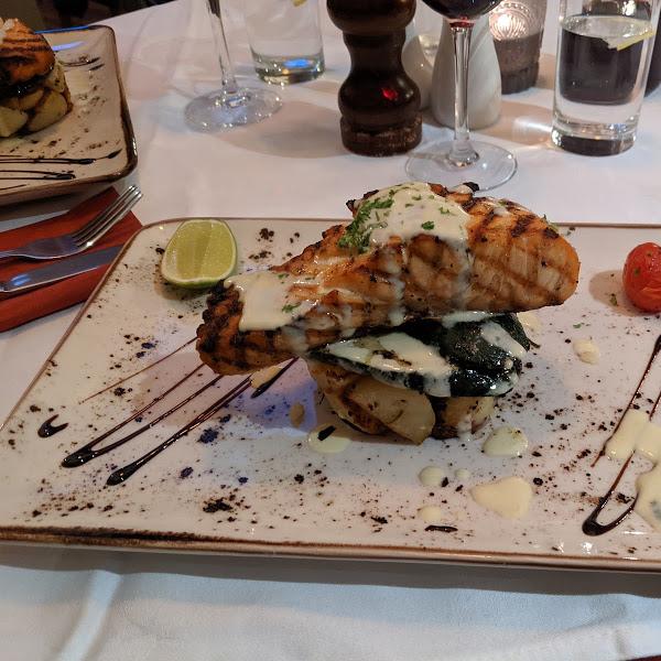 Tuscany Salmon - Wine House Restaurant