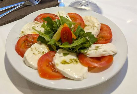 Caprese Salad - Wine House Restaurant