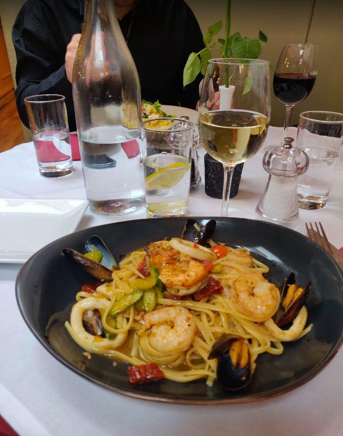 Pasta - Linguine Con Frutti di Mare - Wine House