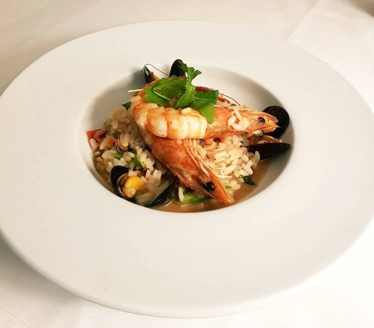 Seafood Risotto - Wine House Restaurant