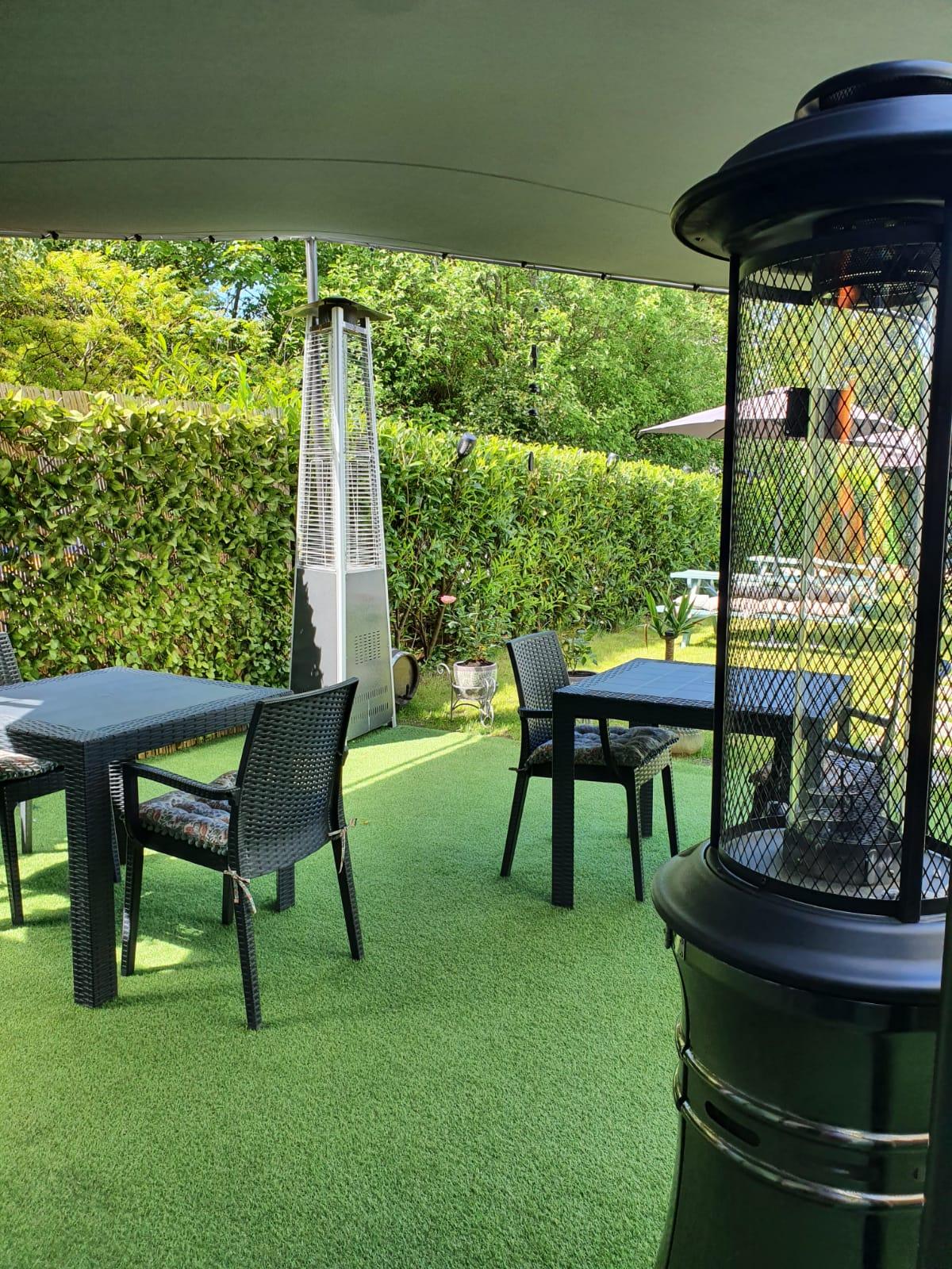 Beer Garden - Fire - Outdoor Dinning - Wine House Restaurant